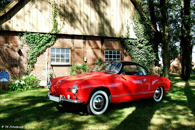 Karmann Ghia Coupe 1956